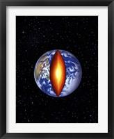 Framed Earth's Core