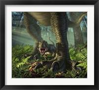 Framed Baby Tyrannosaurus Rex