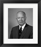 Framed President Dwight Eisenhower