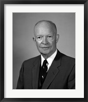 Framed President Dwight Eisenhower