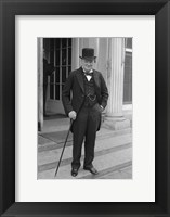 Framed Winston Churchill
