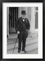 Framed Winston Churchill