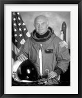 Framed Astronaut John Glenn