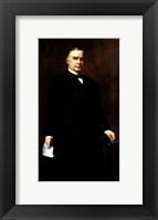 Framed President William McKinley