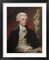 Framed Vintage President Thomas Jefferson