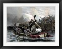Framed General George Washington