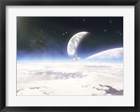 Framed NASA Spacecraft