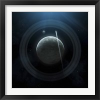 Framed Planet and Rings