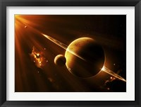 Framed Extraterrestrial Spacecraft