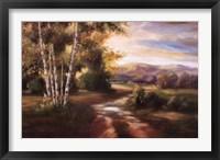 Birchwood I Framed Print
