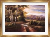 Framed Birchwood I