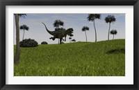 Framed Yangchuanosaurus Running