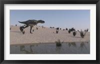 Framed Aucasaurus
