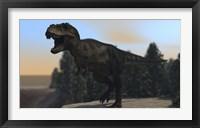Framed Fierce Tyrannosaurus Rex