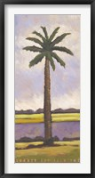 Framed Summer Day Palm Two