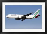 Framed Boeing 767