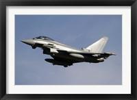 Framed Eurofighter Typhoon 2000
