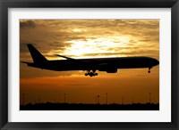 Framed Pakistan International Airlines Boeing 777