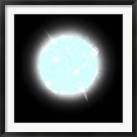 Framed Blue Dwarf Star