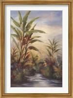 Framed Tropical Breeze I