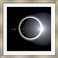 Framed Solar Eclipse