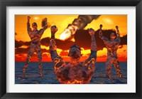 Framed Mankinds Creation