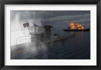 Framed German U-Boat