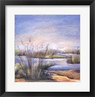 Framed Sea Grass I