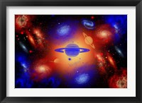 Framed Creation of the Universe