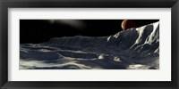 Framed Ice Scarp on Callisto