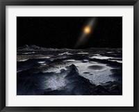 Framed Kuiper Belt Object