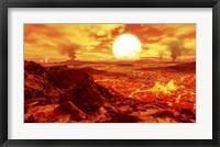 Framed Kepler 10B