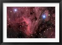 Framed Pelican Nebula