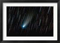 Framed Comet 73P/Schwassmann-Wachmann