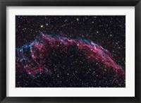 Framed Eastern Veil Nebula