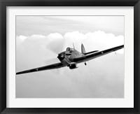 Framed Hawker Hurricane Aircraft