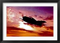 Framed Grumman F6F Hellcat