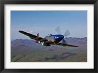 Framed P-51D Mustang 2