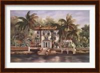 Framed Isle of Palms I