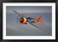 Framed Republic P-47D Thunderbolt