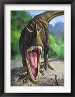 Framed Ceratosaurus Dentisulcatus
