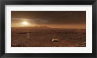 Framed Mars Exploration Rover Spirit