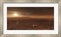 Framed Mars Exploration Rover Spirit