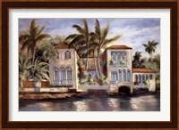 Framed Isle of Palms II