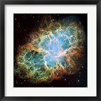 Framed Crab Nebula