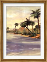 Framed Caribbean Shores I