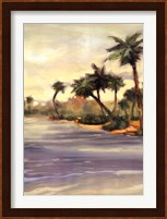 Framed Caribbean Shores I