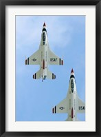 Framed United States Air Force Demonstration Team Thunderbirds