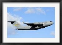 Framed C-17 Globemaster III