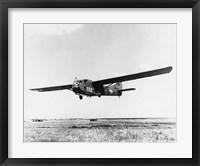 Framed US Army Air Force Waco CG-4A Glider